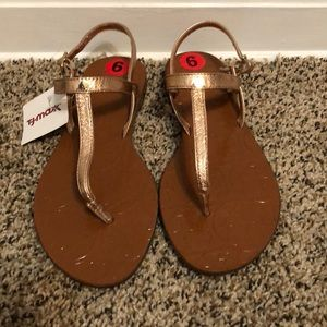 Rose Gold Kate Spade Sandals